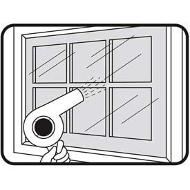 """M-D Shrink & Seal® Indoor Window Kit, 04283, Clear, 84"""" x 110"""""""