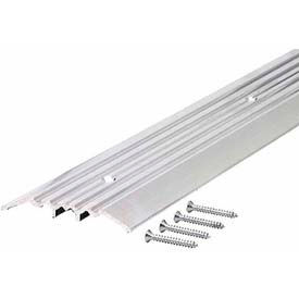 """M-D Heavy Duty Fluted Top Threshold, 11502, 36"""", Silver"""