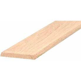 "M-D Flat Hardwood Threshold, 11924, 3"" x 3/8"" x 36"", Unfinished"