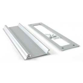 "M-D Mail Slot 28472, Aluminum, Flap & Back Plate, 10""W, Silver"