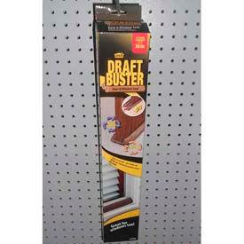 """M-D Draft Buster Door & Window Seal, 43200, Brown, 3-11/32""""W x 17-45/64""""L"""
