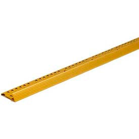 """M-D Carpet Gripper Fluted, 43730, 96""""L, Satin Brass"""