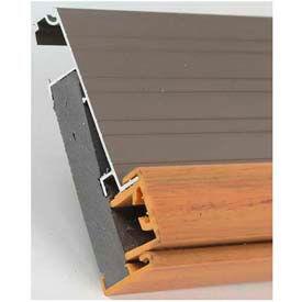 """M-D Kerf Style Replacement Door Bottom W/Vinyl Bulb & Fins, 43820, Beige, 36"""""""