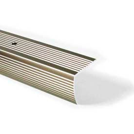 """M-D Stair Edging, Fluted, 43878, 36""""L, Pewter, Screw Nails"""