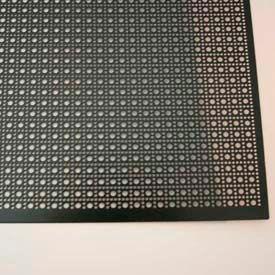 "M-D Aluminum Sheet, Lincane, 56014, 24""L X 12""W X 0.2""H, Black"