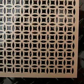 """M-D Aluminum Sheet, Elliptical, 57010, 24""""L X 12""""W X 0.2""""H, Satin Nickel"""