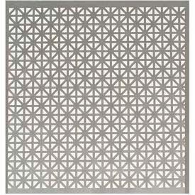"""M-D Aluminum Sheet, Union Jack, 57208, 0.2""""L X 36""""W X 36""""H, Silver"""