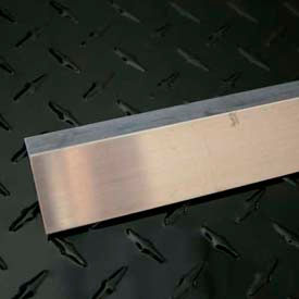 "M-D Aluminum Angle Equal Leg, 61168, 72""L X 1""W X 11/8""H, Silver, D#0234"