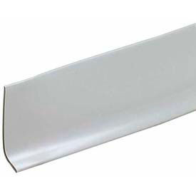 "M-D Wallbase/Dry Back, 65754, 2-1/2""W X 20'H, Silver Gray"