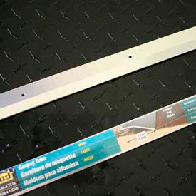 "M-D Carpet Trim Wide, Smooth, 66092, 36""L, Polished"