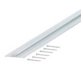 """M-D Decorative Aluminum Divider 67167, 96""""L, For 7/16"""" Thickness, Anodized"""