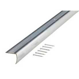 """M-D Stair Edging, 67215, 96""""L, Polished, Screw Nails"""