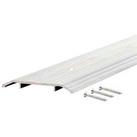 """M-D TH015 Fluted Saddle Threshold, 68320, 36"""", Silver"""