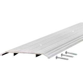 """M-D TH019 Fluted Saddle Threshold, 68635, 36"""", Silver"""