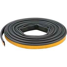 M-D Silicone Smoke Seal Gasketing, 68668, Black, 20'