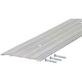"""M-D TH042 Fluted Saddle Threshold, 69808, 72"""", Silver"""