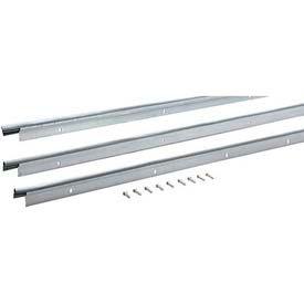 "M-D Flat Profile Door Jamb Weatherstrip Kit, 69901, Silver, 72"" x 96"""