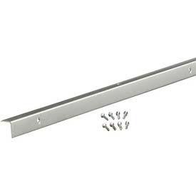 "M-D Decorative Aluminum Corner With Screws 70359, 96""L, Anodized"