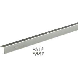 "M-D Decorative Aluminum Corner With Screws 70367, Inside, 96""L, Anodized"