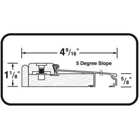 "M-D TH393 Adjustable Alum & Hardwood Sill - Inswing, 77792, 36"", Bronze"
