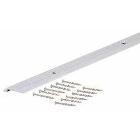 "M-D Tile Edging A759F, Fluted, 78113, 72""L, Silver, Screw Nails"