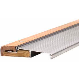 "M-D TH394 Adjustable Alum & Hardwood Sill - Inswing, 78618, 73"", Silver"