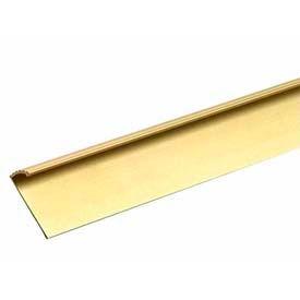"M-D Carpet Gripper Fluted, 79053, 36""L, Satin Brass, Screw Nails"