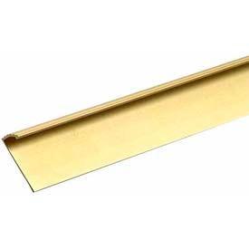 """M-D Carpet Gripper Fluted, 79061, 36""""L, Satin Brass"""