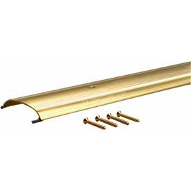 """M-D TH008 Low Dome Top Threshold, 80317, 36"""", Brite Gold"""