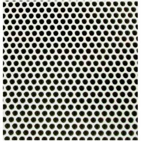 "M-D Aluminum Sheet, Small Holes, 84186, 36"" X 36"" X .020"", White"