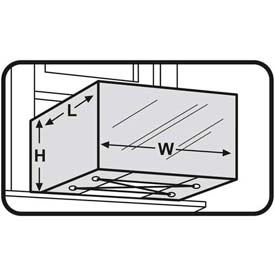 "M-D Window Units AC Cover, 87619, Silver, 20""H x 28""W x 30""L For Units 15,000 BTU and Larger"