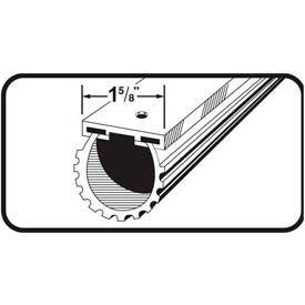 M-D Universal Aluminum & Rubber Garage Door Bottom, 87643, Black, 9'