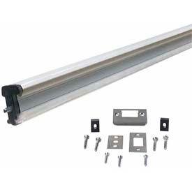 "M-D Aluminum Locking Slide Bolt Combination Astragal, 87791, White, 80"""