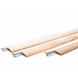 M-D Compression Weatherstrip W/Wood Stop Door Jamb Kit, 87981, White