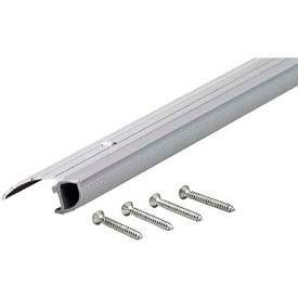 """M-D Low Mini Bumper Threshold, 94091, 36"""", Satin Nickel"""