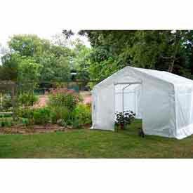 Translucent Greenhouse, Peak Style 12'W x 24'L x 8'H
