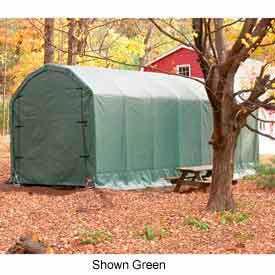 Gray 12'W x 20'L x 12'H Barn Style Portable Building