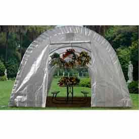 Translucent Greenhouse, Round Style 12'W x 20'L x 8'H