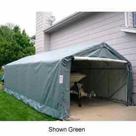 Gray Peak Style 12'W x 24'L x 8'H Extended Garage
