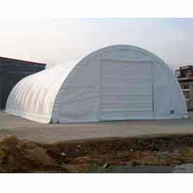 30'W x 40'L x 15'H  Commercial Building, White