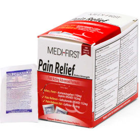 Medi-First® Pain Relief, 100 Tablets, 81133