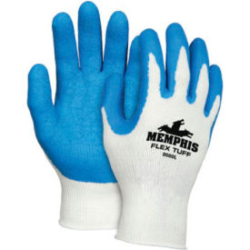 Premium Latex Coated String Gloves, Memphis Glove 9680xl, 1-Pair