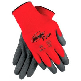 Ninja Flex Latex Coated Palm Gloves, MEMPHIS GLOVE N9680M, 1-Pair
