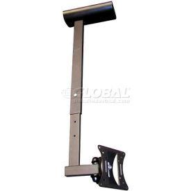 "Flat Panel CCTV Ceiling Mount Bracket For Monitor 10"" - 30"""