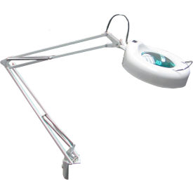 8 Diopter LED Magnifying Lamp - White