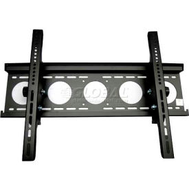 "Plasma TV/LCD Monitor Low-Profile Wall Mount Bracket For Monitor 30""- 50"" Black"