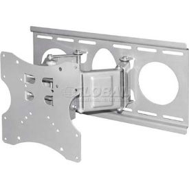 "LCD Double Articulating Arm Wall Mount Bracket For Monitor 15"" - 22"""