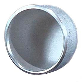 304 Ss Schedule 10 Cap 8 Butt-Weld Female - Pkg Qty 2