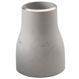 304 Ss Schedule 40 Concentric Reducer 3x2-1/2 Butt-Weld Female - Pkg Qty 5
