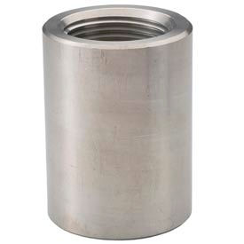 """Ss 304/304l Forged Pipe Fitting 1-1/2"""" Coupling Npt Female - Pkg Qty 5"""